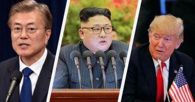 Moon Jae-in cere o reluare rapidă a discuţiilor dintre Washington şi Phenian