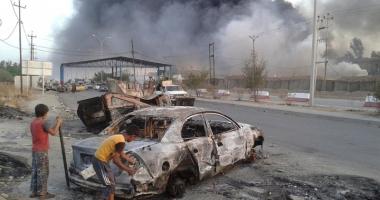 Coaliţia bombardează podurile  din Mosul