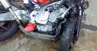 Motociclist  în comă, după  un accident din staţiunea Mamaia