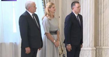 Ramona Mănescu, Nicolae Moga și Mihai Fifor au depus jurământul la Palatul Cotroceni