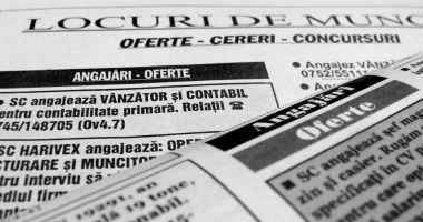 Mii de locuri de muncă vacante pentru șomeri
