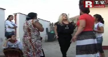 Răfuială între romi şi români, în Murfatlar  / VIDEO