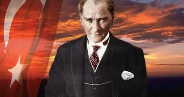 UDTR organizează ceremonie de comemorare a fondatorului Republicii Turcia, Mustafa Kemal Atatürk