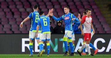 """Napoli şi Chelsea, cu un pas în """"sferturile"""" Europa League"""