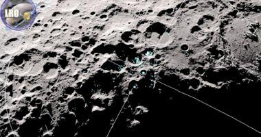 NASA a descoperit molecule de apă în mișcare pe Lună