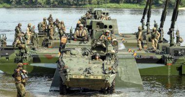 NATO îşi etalează forţa în faţa Rusiei prin manevre-gigant