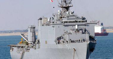 Navă de asalt americană, trimisă de SUA în Marea Neagră