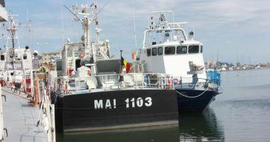 Nava MAI 1103, misiune de supraveghere a frontierei Europei în Marea Egee