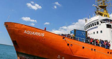 Nava umanitară Aquarius, probleme cu justiţia italiană