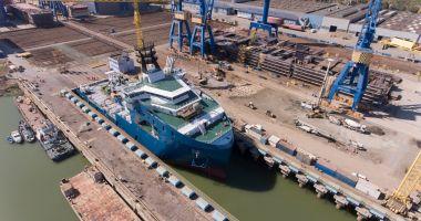 "Nava de semnalizare ""Concordia EU 2019"" a primit botezul"