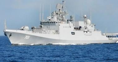 Rusia a mai trimis o navă de luptă în Mediterana