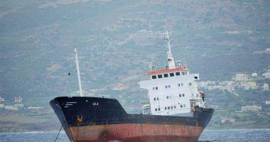O navă suspectă de trafic de droguri și arme a fost interceptată