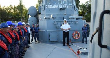 """Trei nave militare româneşti, la exerciţiul """"Sea Breeze 19"""", pe Marea Neagră"""
