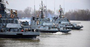 Câteva sute de militari de la flotila fluvială se instruiesc pe Dunăre
