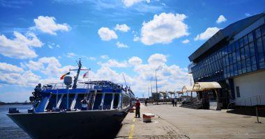 """Navele de pasageri """"Treasures"""" și """"River Adagio"""" au acostat în portul Constanța"""