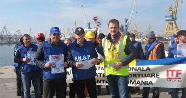 Navigatorii și docherii constănțeni vă cer: Stopați dumping-ul social din porturile europene!