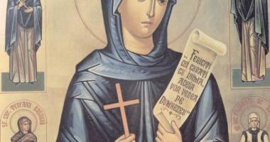 Procesiune cu icoana Sfintei Cuvioase Parascheva, la Navodari