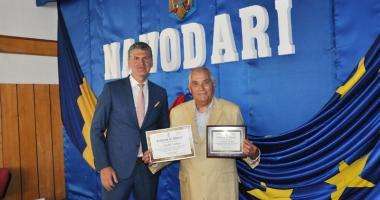 Profesorul Vasile Coman, cetăţean  de onoare al oraşului Năvodari