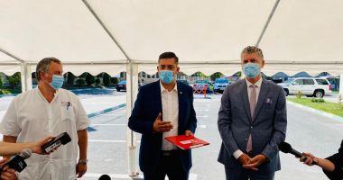 """Primarul Florin Chelaru: """"Centrul de Sănătate este cel mai important proiect pe care l-am gândit"""""""