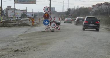 Lărgirea drumului dintre Constanţa şi Năvodari, blocată de ENEL