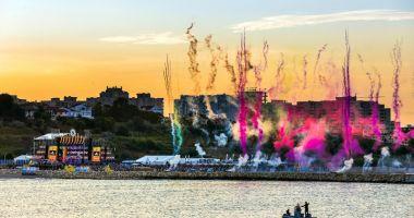 Plaja Modern devine Plaja Neversea. Cea mai mare scenă de pe litoralul românesc
