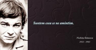 """""""Nichita Stănescu  şi dreptul la timp"""""""