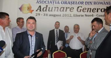 Nicolae Matei, noul preşedinte al Asociaţiei Oraşelor din România