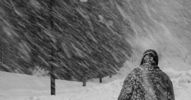 Atenţionare meteo COD GALBEN de NINSORI VISCOLITE şi vânt puternic pentru opt judeţe