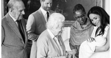 A fost anunțat numele primului copil al prințului Harry și al lui Meghan Markle
