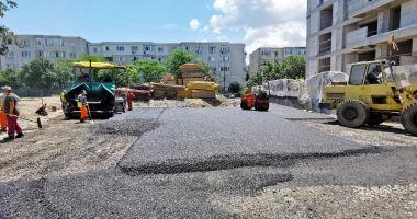 Noi parcări rezidenţiale în cartierele din Constanţa