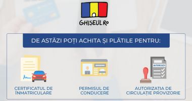 Tranzacţii rapide şi sigure pe Ghiseul.ro