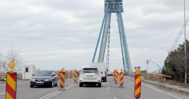 Noi restric�ii de circula�ie pe podul de la Agigea