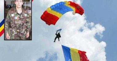 RIP, caporal Cristinel Jianu. Ultima paraşutare: un an de la tragedia de la Clinceni