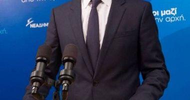 Noul prim-ministru de centru-dreapta  al Greciei promite reforme rapide