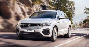 Noul Volkswagen Touareg  s-a lansat şi la Constanţa