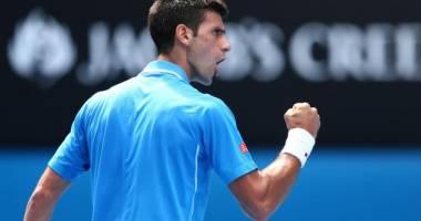 Tenis / Novak Djokovic s-a calificat în optimile de finală ale Australian Open