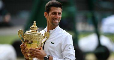 Novak Djokovic, câștigătorul de la Wimbledon, mărturisire emoționantă: 'Când eram copil îmi făceam trofee în camera mea...'