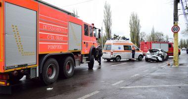 Numărul victimelor accidentelor  rutiere, în scădere la Constanţa