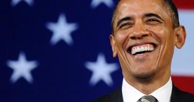 Obama continuă să îşi facă soţia geloasă