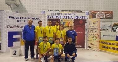 Luptătorii constănţeni, medaliaţi cu argint şi bronz