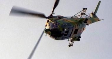 Elicopter doborât  în Damasc