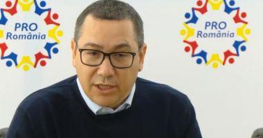 Reacția lui Victor Ponta la condamnarea definitivă a lui Liviu Dragnea