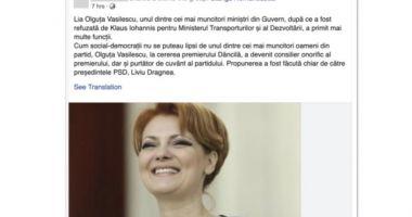 Facebook desființează conturi false care lăudau PSD
