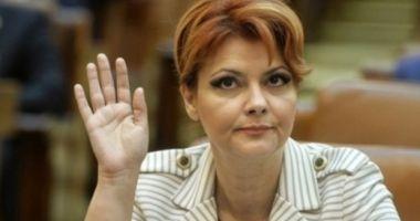 Lia Olguţa Vasilescu, convinsă de Dragnea să renunţe la postul de ministru al Dezvoltării