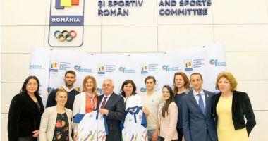 Energie pentru pregătirea Echipei Olimpice a României
