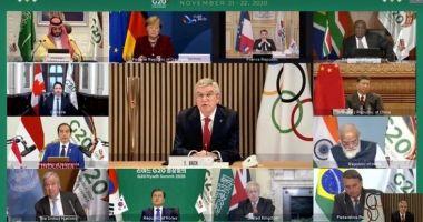 Olimpism / Liderii G20 sprijină ferm Tokyo 2020 şi Beijing 2022