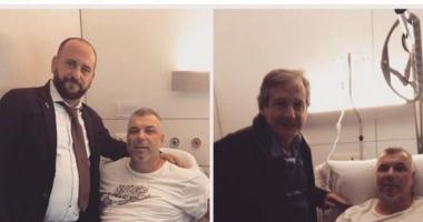 Cosmin Olăroiu s-a operat la o clinică din Barcelona