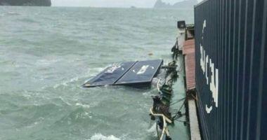 O navă a pierdut 16 containere în Marea Andaman