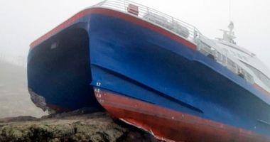 O navă cu 163 de pasageri a eșuat pe pietre! 6 răniţi, transportaţi la spital