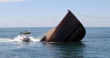 O navă s-a scufundat în Marea Galbenă; șapte marinari au dispărut